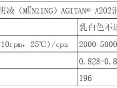 德国明凌(MÜNZING)AGITAN® A202消泡剂