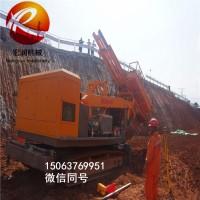 6-20米高边坡支护钻机 多功能履带式凿岩钻机