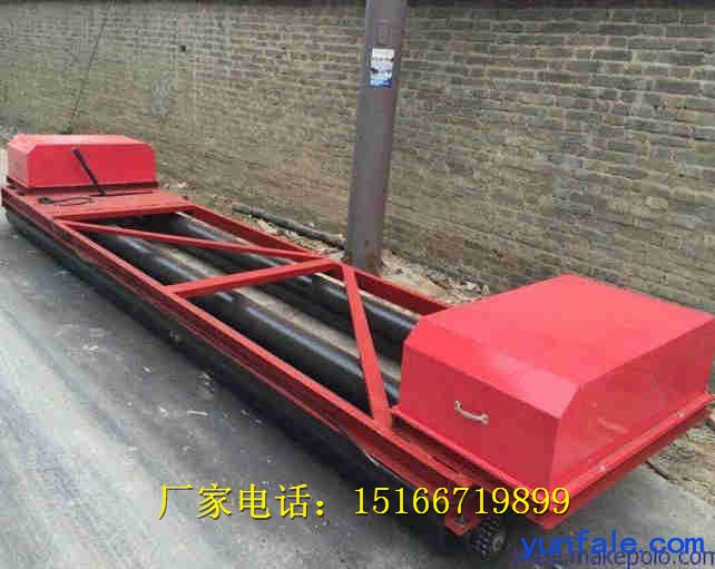 金尊铺路专用滚轴式砼路面摊铺机三滚筒式整平机价格优惠支持定做